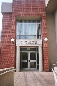 Leslie County, Kentucky Courthouse
