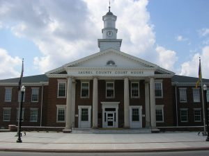 London KY Court Reporters travels to Laurel County Court House