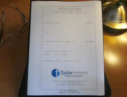 KY Comp Board Clarifies One-Sided Page Requirements