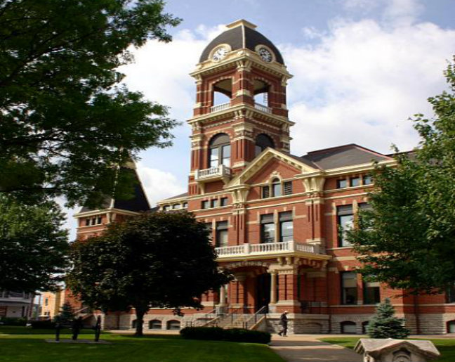 Old Campbell County Kentucky Courthouse - Newport KY - Taylor Court Reporters KY