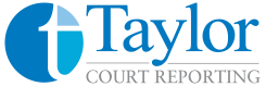 Louisville KY Court Reporters | Taylor Court Reporting Logo